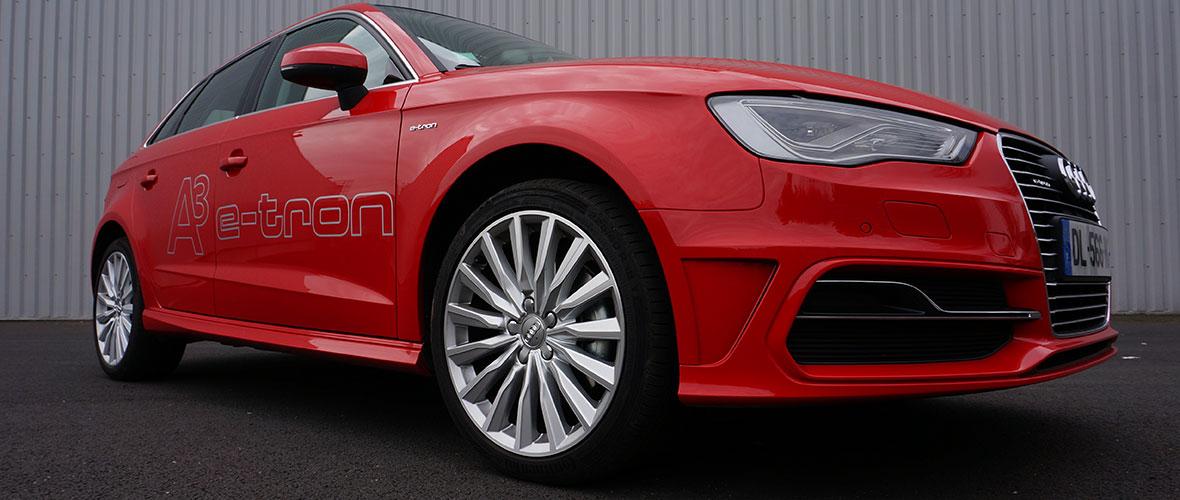 Essai conso Audi A3 Sportback e-tron : 3,3 litres / 100 km