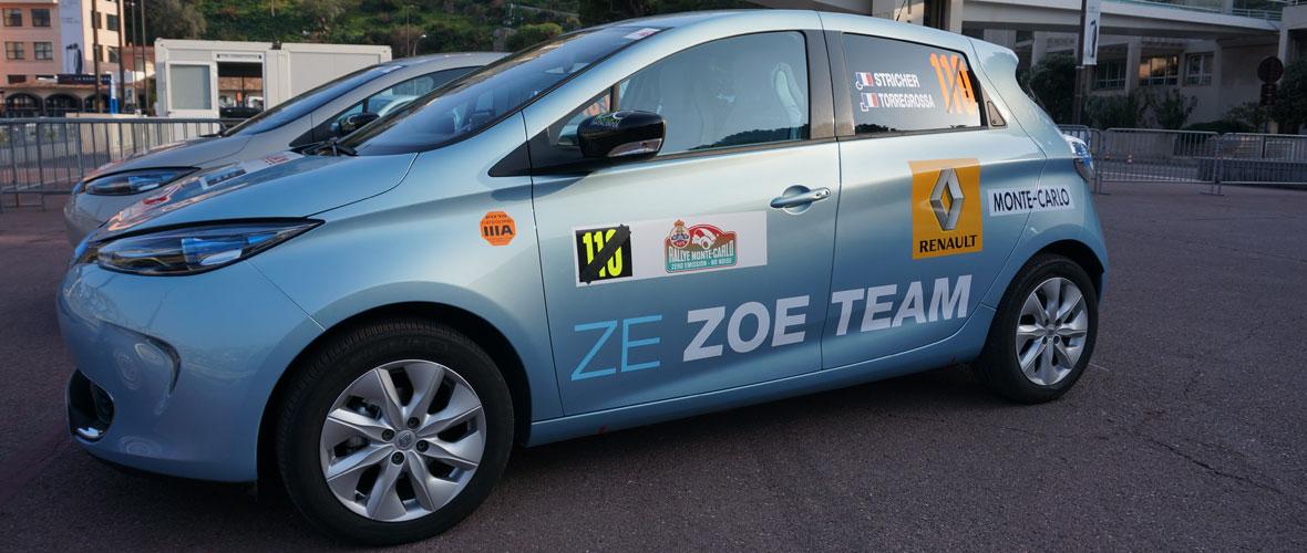 e-Rallye Monte-Carlo: cravate et trip meter