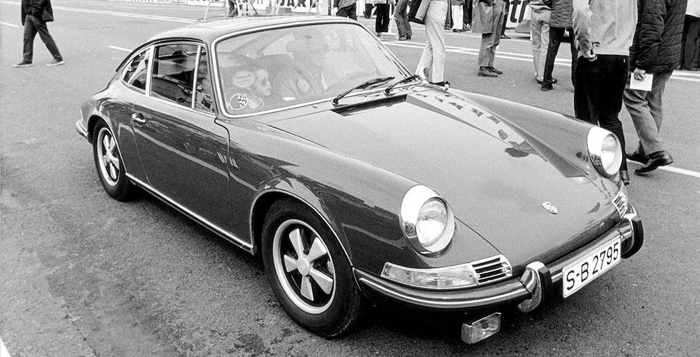Cinéma : la Porsche 911S de Steve McQueen dans Le Mans
