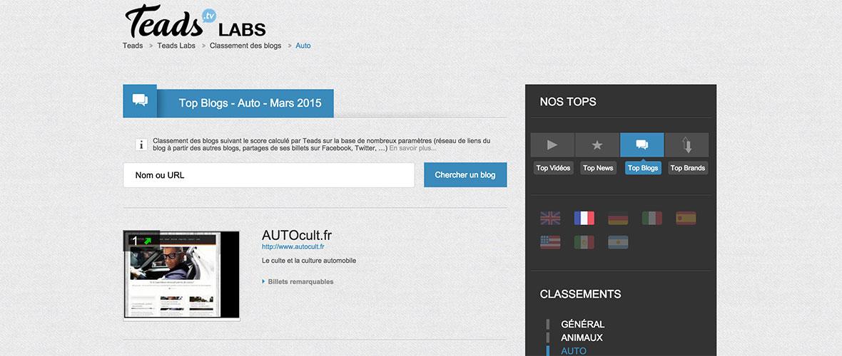 AUTOcult.fr est le blog auto le plus influent !