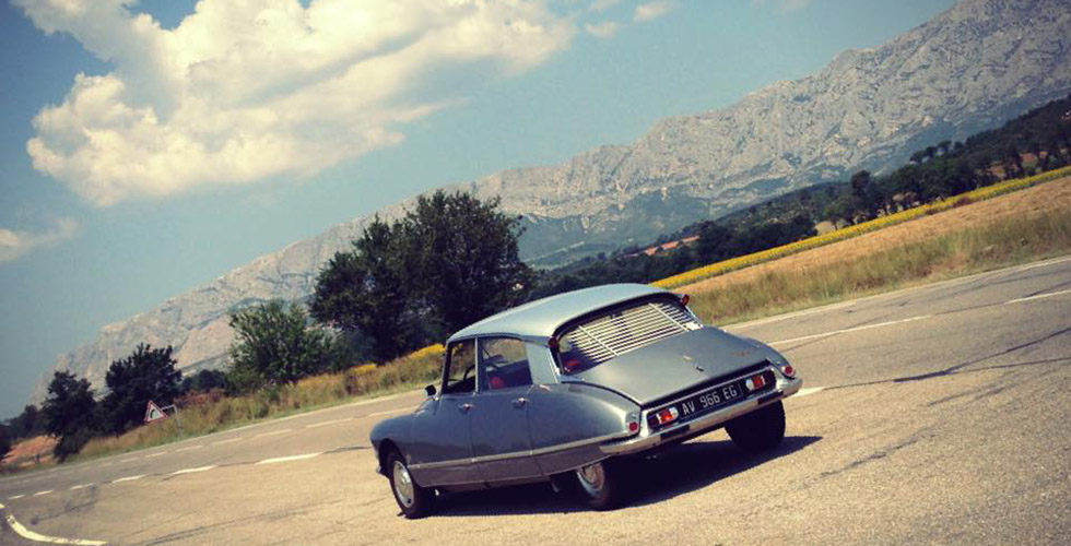 La Nationale 7 en Citroën DS