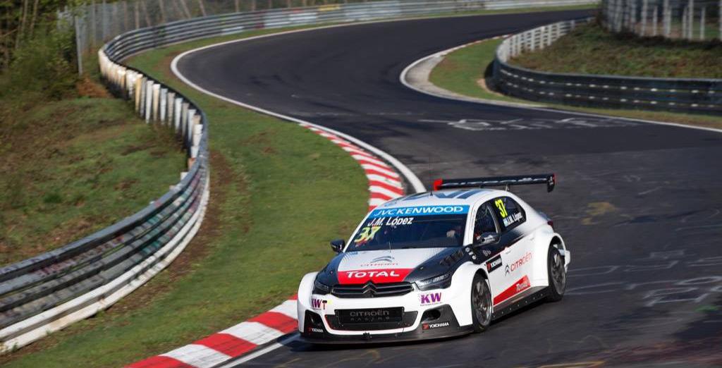 Citroen WTCC Nurburgring Jose Maria Lopez 01