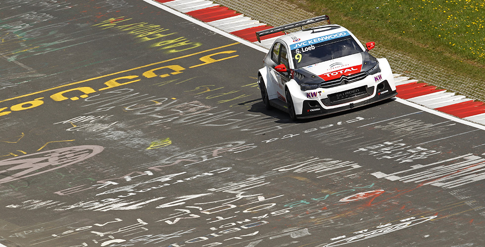 WTCC // Nurburgring Nordschleife : Citroën teste et confirme