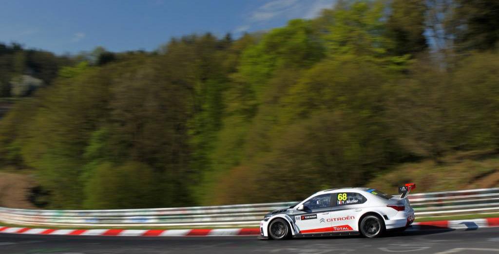 Citroen WTCC Nurburgring Yvan Muller