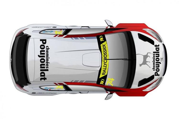 Peugeot 208 RX Jerome Grosset Janin EuropeRX FIARX _ 0