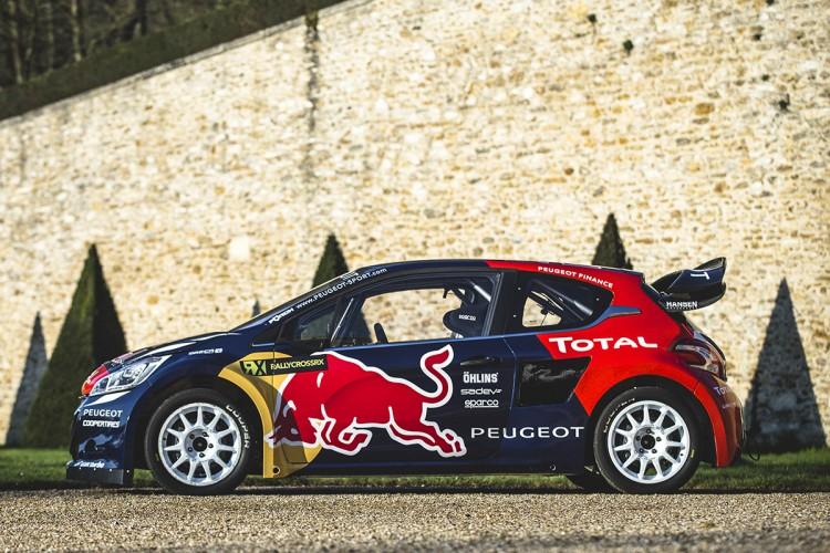 Peugeot 208 WRC FIA RX 2015 Hansen Timmy Hansen Davy Jeanney