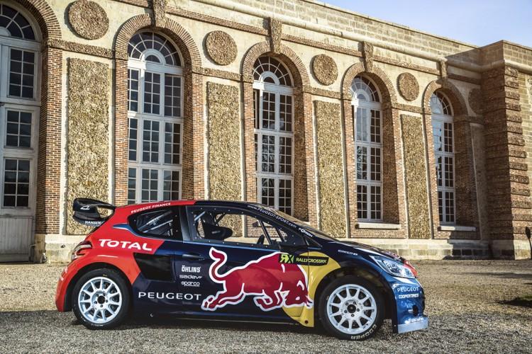 Peugeot 208 WRC FIA RX 2015 Hansen Timmy Hansen Davy Jeanney  - 05