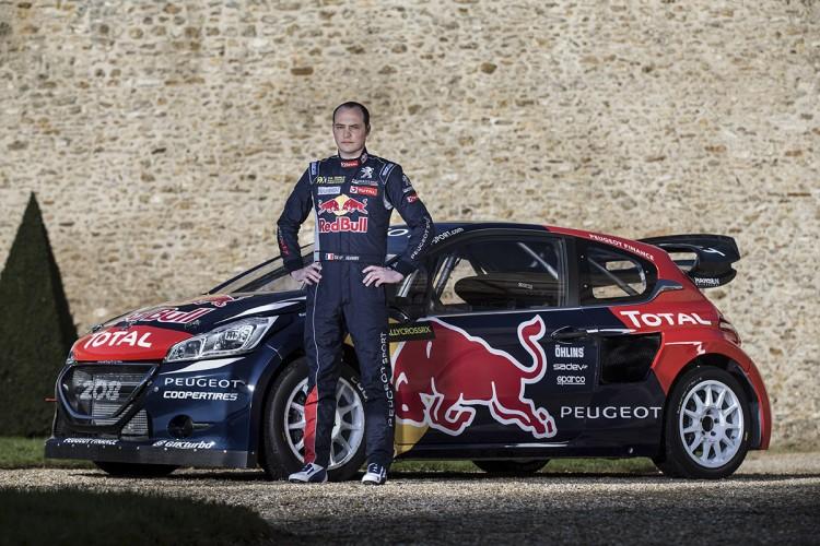 Peugeot 208 WRC FIA RX 2015 Hansen Timmy Hansen Davy Jeanney  - 06