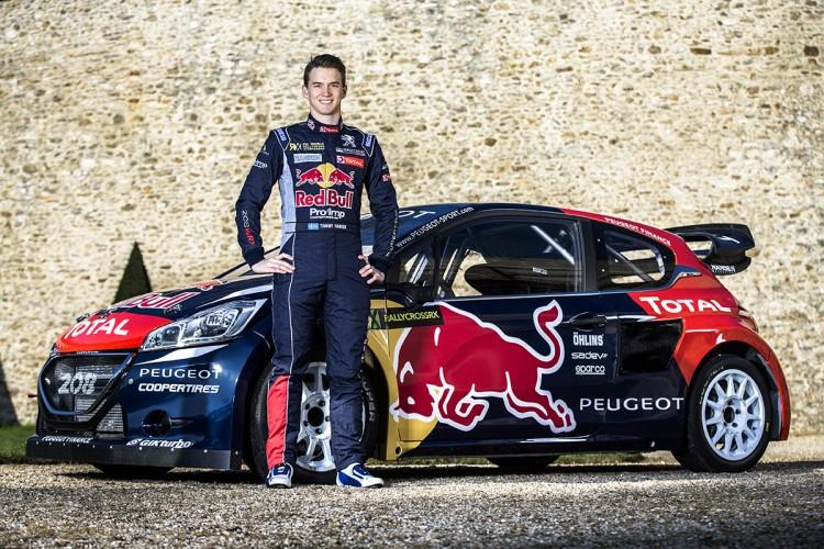 Peugeot 208 WRC FIA RX 2015 Hansen Timmy Hansen Davy Jeanney  - 07
