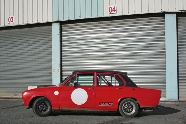 Triumph Dolomite essai course test drive - 03