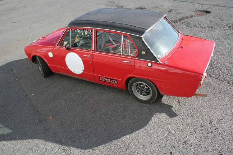 Triumph Dolomite essai course test drive - 09