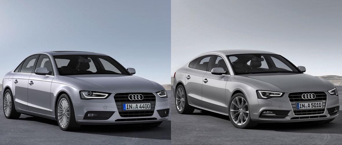 Audi planche sur une Audi 4,5