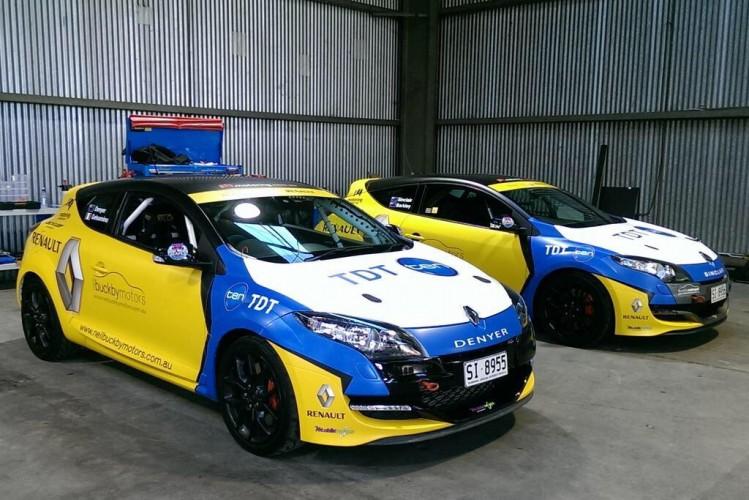 renault megane rs australie 09