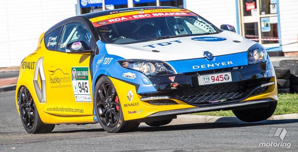 Renault Mégane R.S. sur les targas australiennes