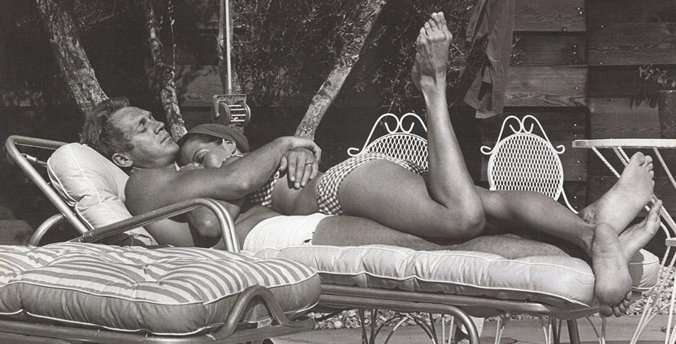 Citation : Steve McQueen, Stirling Moss et Marilyn Monroe