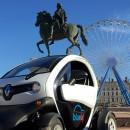 Renault Twizy autopartage BlueLy Lyon