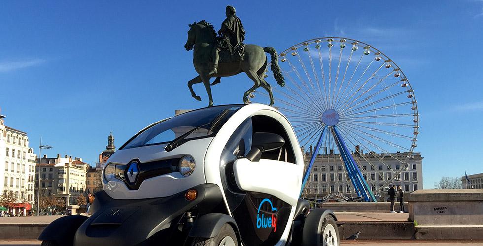 Autopartage : le Renault Twizy deviendrait-il branché ?