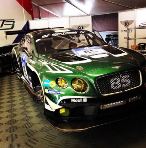 Bentley Continental GT3 Nurburgring 2015