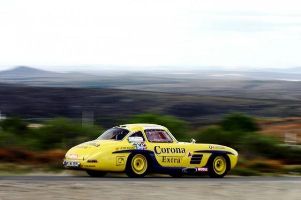 Pierre de thoisy carrera panamerica mercedes 300 SL