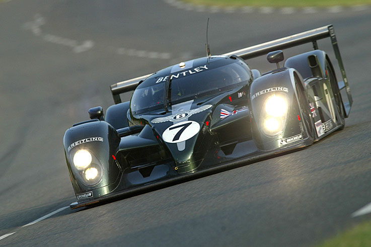 Bentley Speed 8 vainqueur des 24 heures du Mans 2003