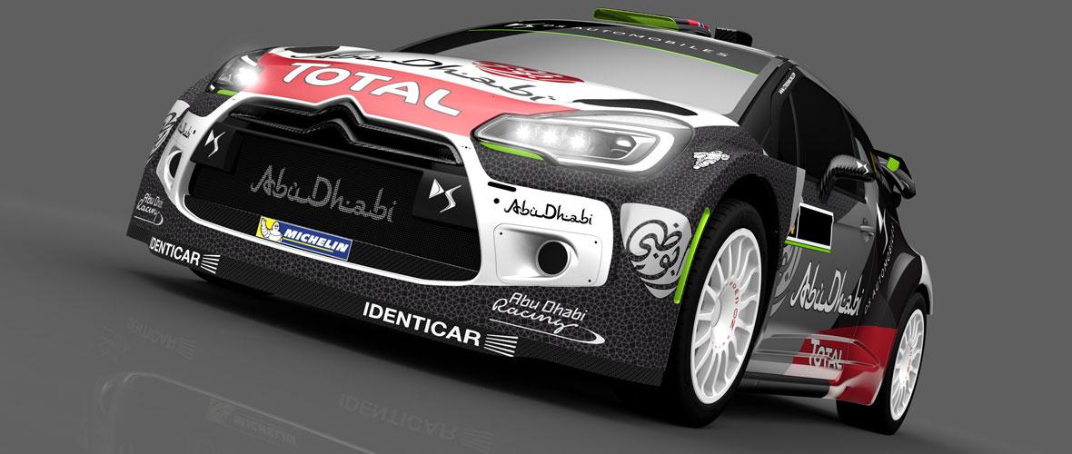 La DS 3 WRC change de peau !