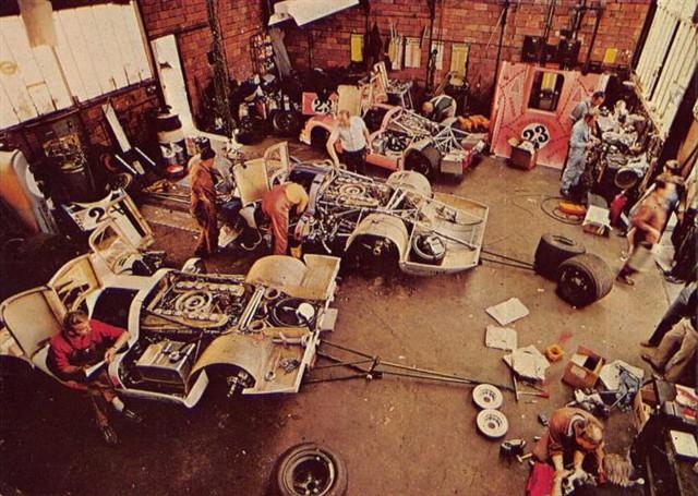 le mans porsche garage teloche - 01