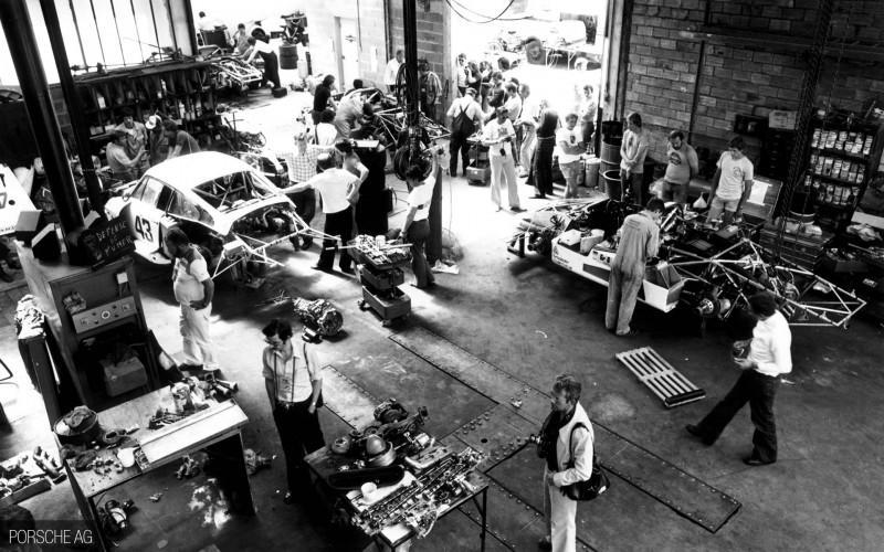 le mans porsche garage teloche - 09