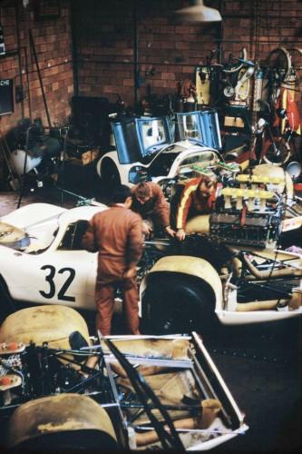 le mans porsche garage teloche - 16