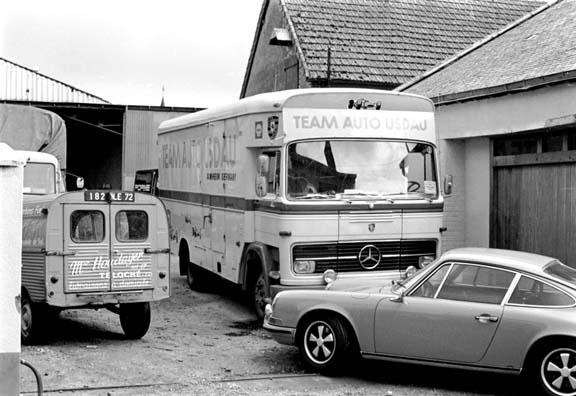 le mans porsche garage teloche 1971 - 10