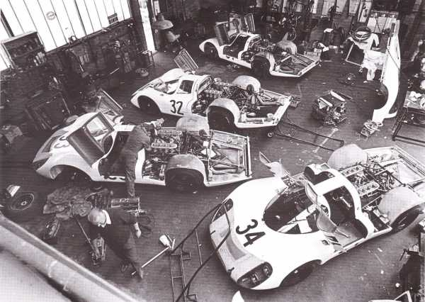 le mans porsche garage teloche 1971 908 - 11