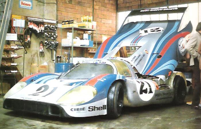 le mans porsche garage teloche 1971 917