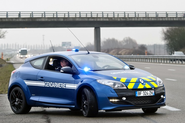 renault megane RS gendarmerie - 00