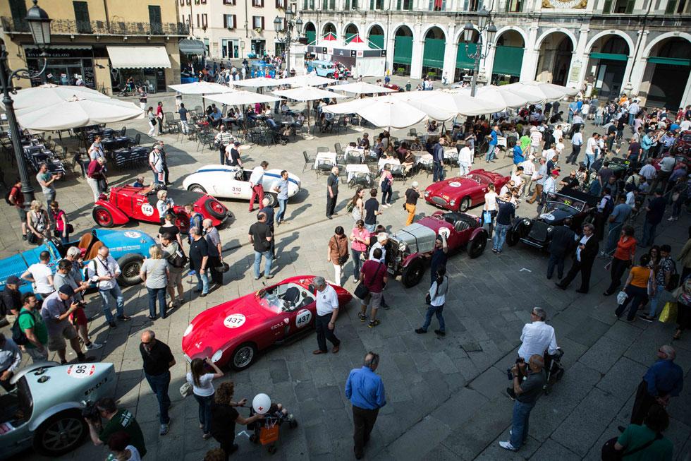 Les premières photos des Mille Miglia 2015