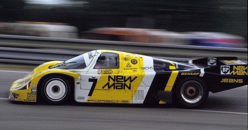 Porsche 956, Klaus Ludwig / Paolo Barilla / John Winter, 24 Heures du Mans 1985