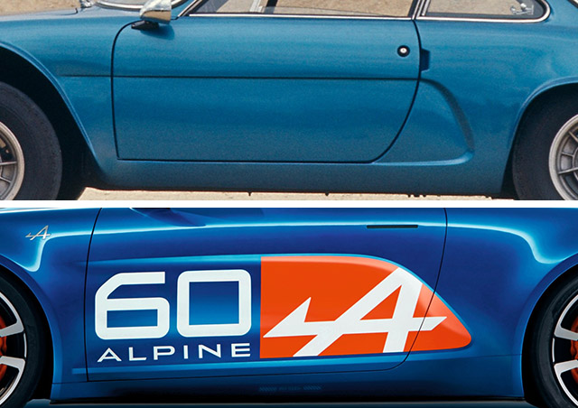 alpine celebration vs A110