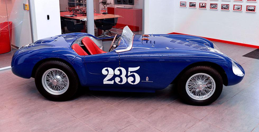 Une Ferrari 500 Mondial Spyder PF achève sa restauration