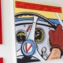 michel vaillant art strips bd deco tableau - header