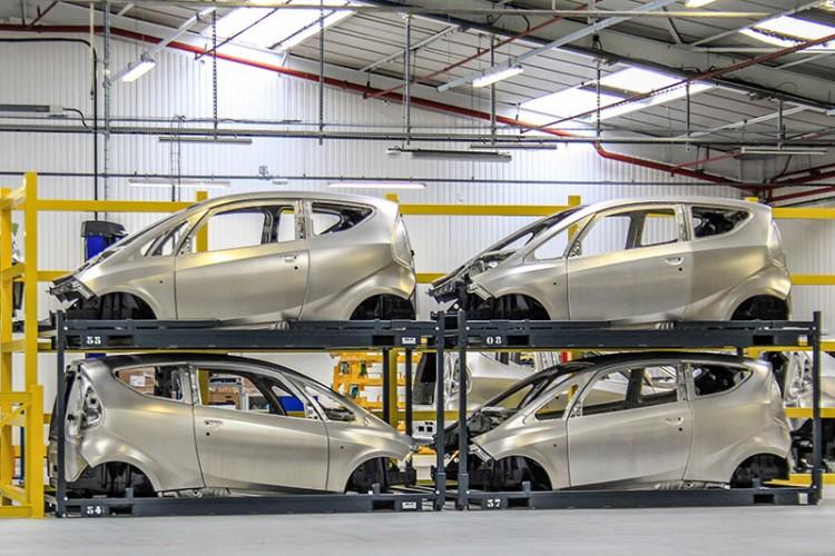 Les Bolloré seront produites dès ce mois ci en l'usine Alpine de Dieppe.