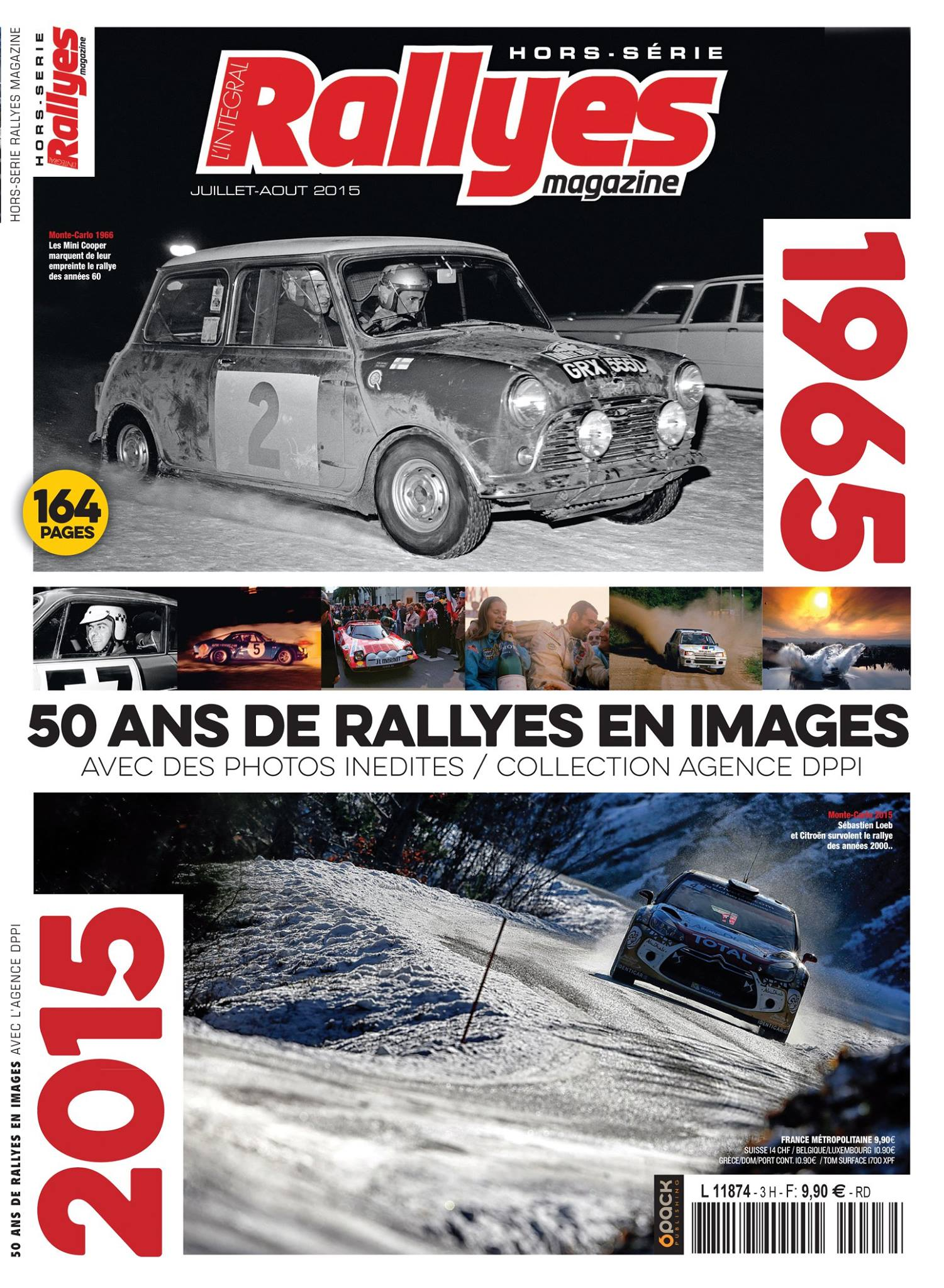 header rallyes magazine  hors serie 50 ans rallye wrc dppi media press agency