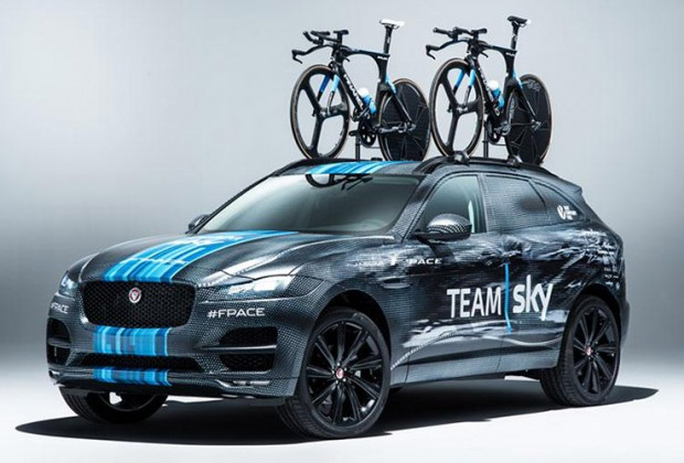 jaguar suv fpace tour de france team sky 2015