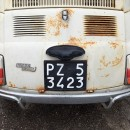 Fiat 500 plaque immatriculation italie
