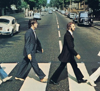 LMW281F volkswagen Coccinelle de Abbey Road - the beatles
