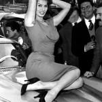Rally del Cinema 1956 - Sophia Loren Mercedes 300SL Gullwing