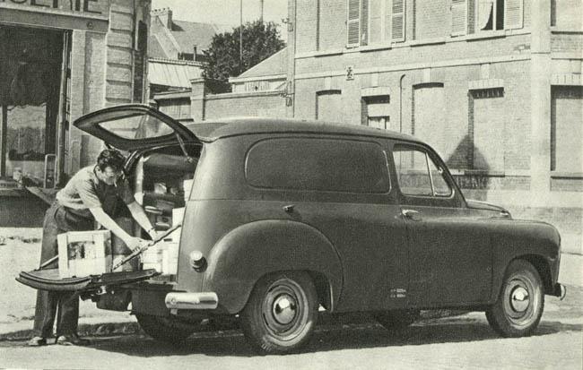 Renault Prairie, fourgon tôlé