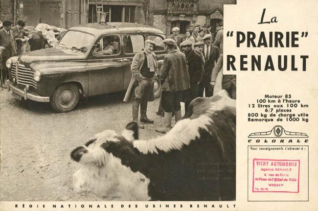 Renault Prairie, fascicule d'époque