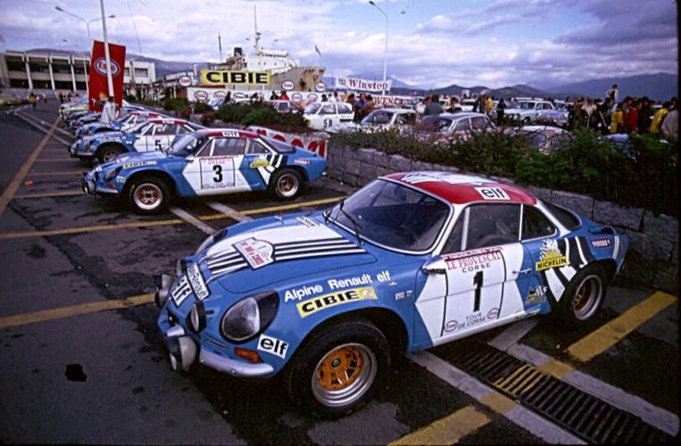 Alpine Renault A110 - Jean-Pierre Nicolas - Tour de Corse 1973 - 01