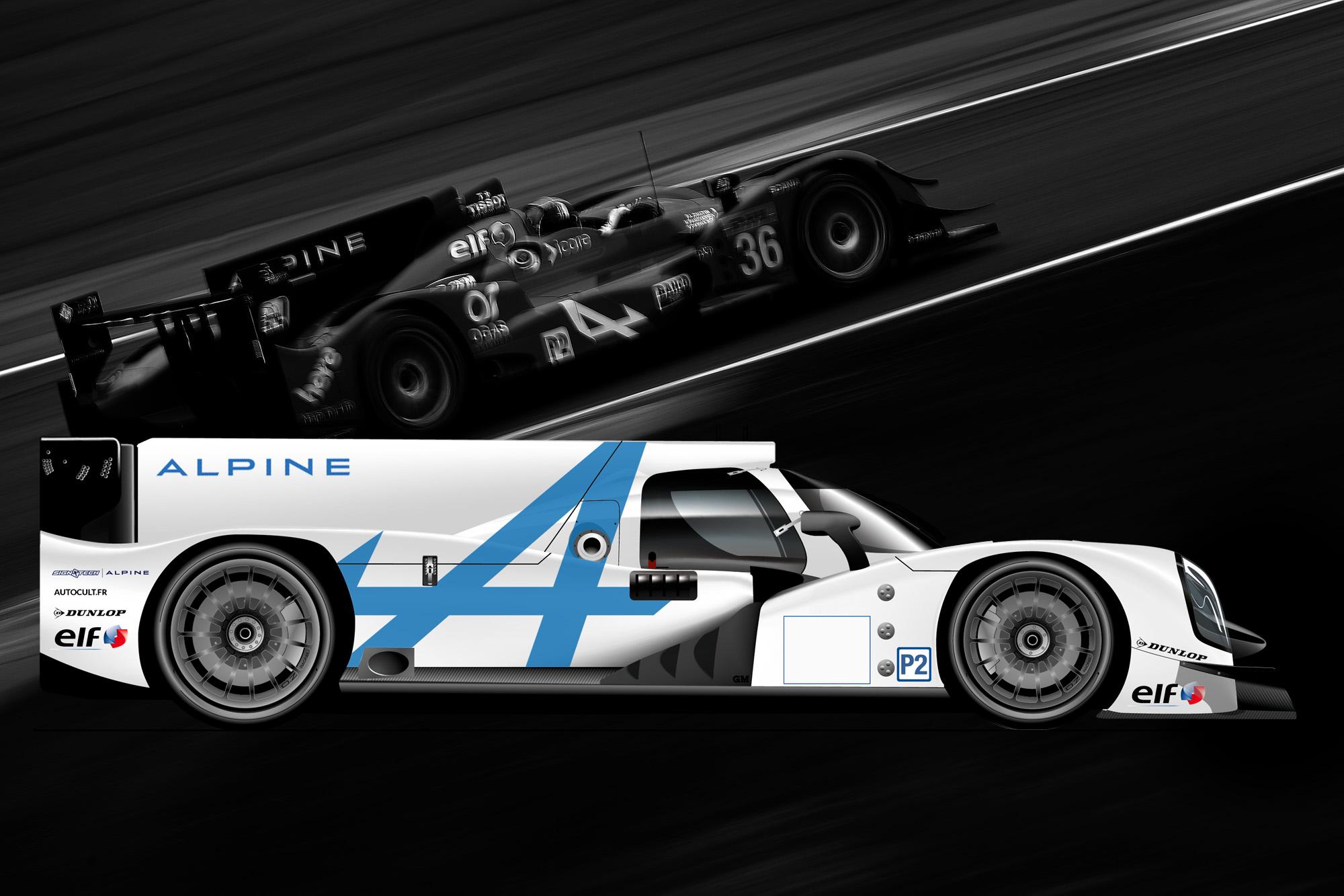 Alpine Renault Oreca LMP2 2016 FIA WEC ELMS