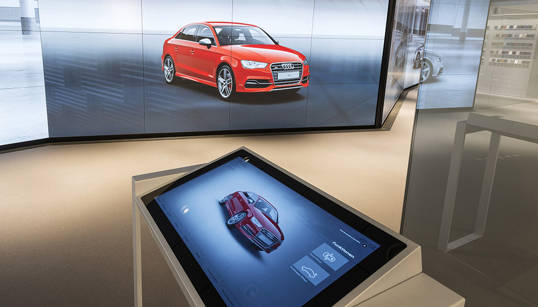 Audi lance les concessions virtuelles et digitales