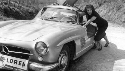 Rally-del-Cinema-1956-2-Sophia-Loren-Mercedes-SLR-HEADER