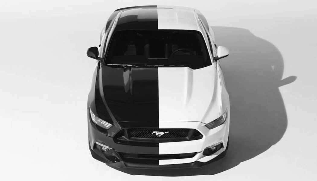 Ford Mustang et Art Car #lecurieFordMustang